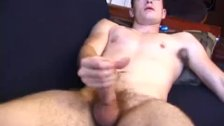 Straight amateur twink tugs till he cums