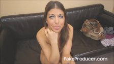 Mia Gold's First Porno Ever With The FakeProd