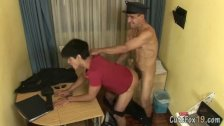 Anal examination of the twink suspect