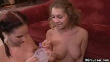 Sharing Cumshots After A Threesome