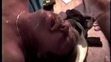 Southern redneck getting facialized
