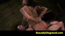 FetishNetwork Alby Rydes hot rope slave