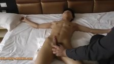 Big Cock Slim Boy Got Handjob