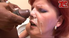 Granny cumshot facial compilation part 2