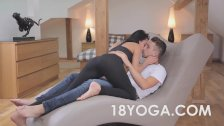 Lexi Dona Anal Fucked After Sweaty Yoga Work