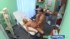 FakeHospital Busty blonde recieves a creampie - duration