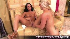 Airerose Hot MILF and Teen Lesbian Action