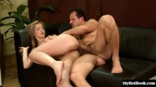 Hot blonde Abigaile Johnson is here for a