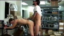Hung Bareback In Public Gym