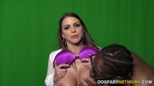 Brooklyn Chase Gets Gangbanged at Restroom