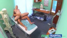 FakeHospital Horny MILF wants doctors cum