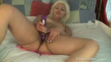 Sexy Barbie Toying Her Pussy