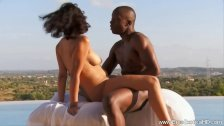 Ebony MILF Learns How To Love