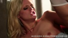 Wicked - Scarlett Red Loves big cowboy cock
