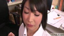 Japanese gokkun cum play Kana Ohori Subtitled