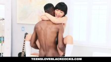 Japanese Tutor Gets Drilled By a BigBlackCock