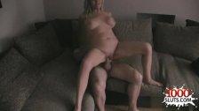 Horny girl punish anal