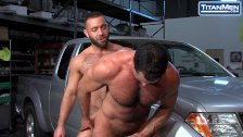 Hairy Big Dicked Mechanics Hook Up