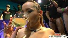 Champagne and cum