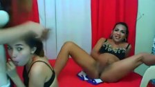 Hot Shemale Trio Ass Fucking Each Other