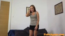 FakeAgent Two horny friends in casting part 1