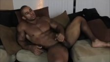Samson Biggs Masturbates On Couch