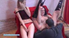 Kinky MILF gives nice BJ and handjob