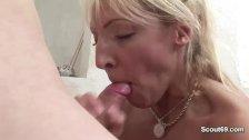 MILF Teacher seduce Young Boy to Fuck