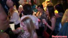 Amateur euroteen party babes get down closeup