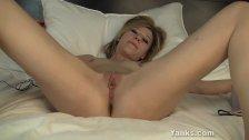 Gorgeous Ginger Has Orgasm