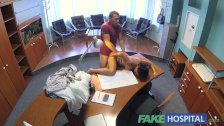 FakeHospital Doctor fucks patient on desk