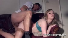 Older gents spit roast a blonde teen