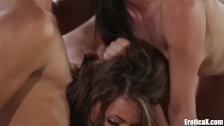 EroticaX Adriana Chechik HOT Threesome By The