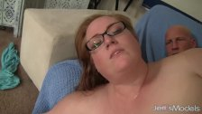 Hot and sexy BBW Julie Ann More gets her puss