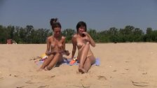 New teen nudist friends bound by the love of