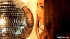 Disco queen Dani Daniels teases the camera