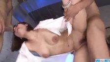 Special porn play with schoolgirl Tiara Ayase