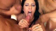 Lingerie pornstar group-fucked