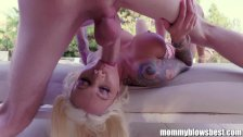 MommyBlowsBest Lolly Ink Blows Daughter's Boy - duration 10:41