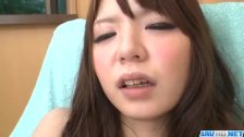 Aya Eikura plays with her shaved cherry in so