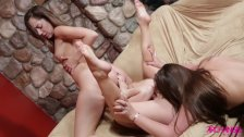 Remy LaCroix lesbian 3way with Dani and Lexi