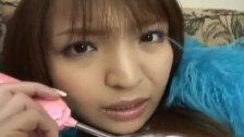 Haruna Ayumi rides dildo with aroused nooky