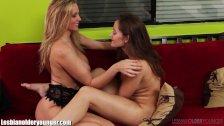 LesbianOlderYounger Dani Daniels & Julia Ann