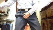 Boner In Suit Pants