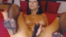 Seductive Babe Close Up Pussy Masturbation