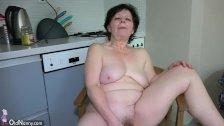 OldNanny Old lesbian mature masturbate her pu