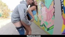 Hungarian Babe Fucked In Public - duration 8:13