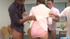 Yumi Maeda starts having sex at work with