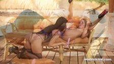 Amirah Adara and Nia Black Sexy Lesbians