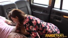 FakeTaxi Cum hungry babe with stiff nipples